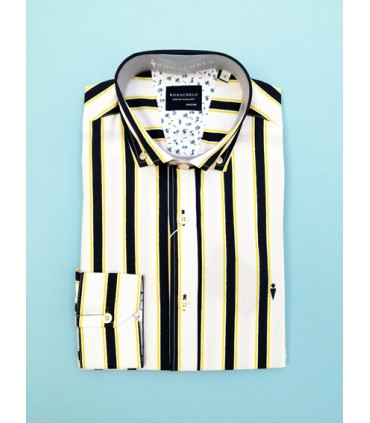 Camisa -  - Camisa rayas flúor. What do you want to do? New mail Copy. - Moda y complementos -