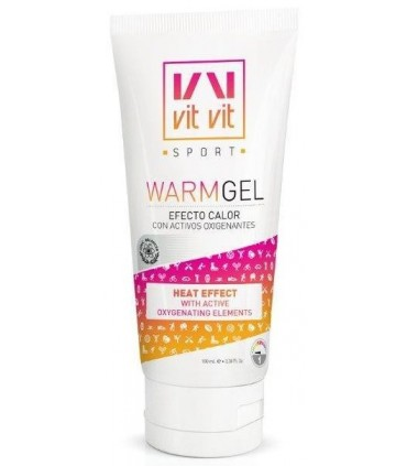 GEL EFECTO CALOR VIT VIT SPORT 100 ML